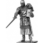 Sir Urien and Chair Pewter Sculpture METR010