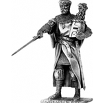 Sir Gawaine and Chair Pewter Sculpture METR012