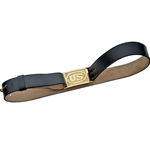 U.S. Leather Sword Belt and Brass Buckle