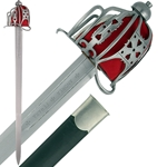 Hanwei Basket Hilt Broadsword by Paul Chen SH2002
