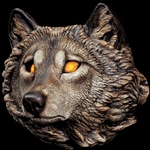 Wolf Wall Sconce
