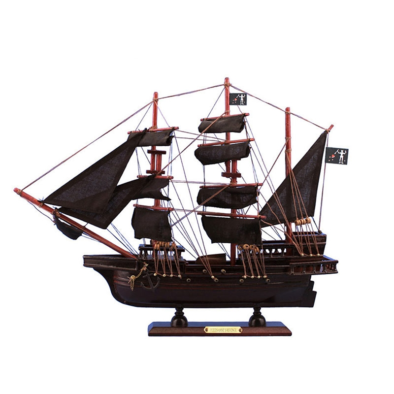 By The Sword Inc Blackbeard S Queen Anne S Revenge Model Ship