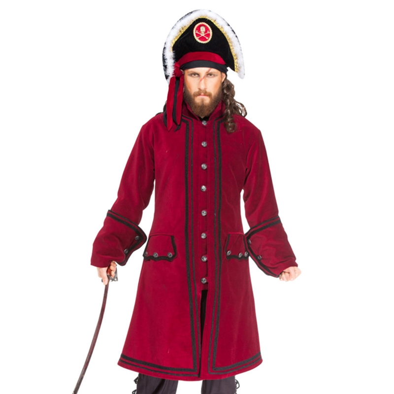 Mens Pirate Coats and Pirate Vests
