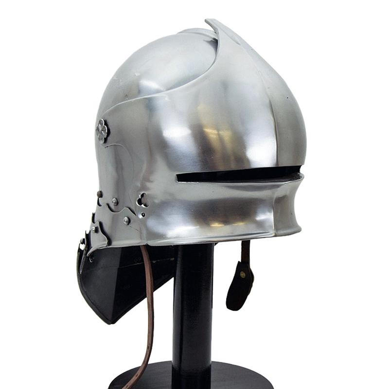 German Sallet Helm - 16 Gauge
