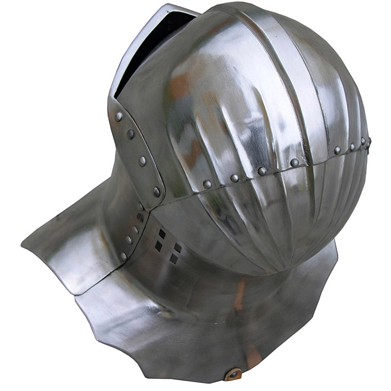 By The Sword, Inc  - Medieval Frog Mouth Jousting Helmet
