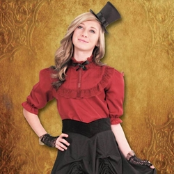 Piccadilly Steampunk Blouse