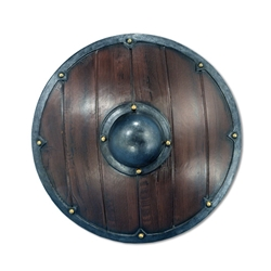 Large Round Viking Shield - 27 inches