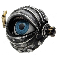 Automaton's Eye Ring Pewter Alchemy R178
