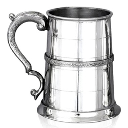 Celtic Band One Pint Pewter Tankard