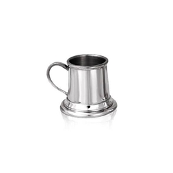 Mini One Ounce Straight Pewter Tankard