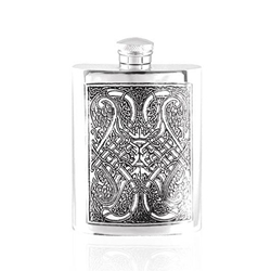 Celtic Knot Pewter Flask 6 Ounces