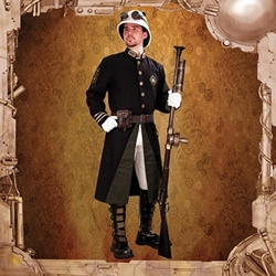Britannia Guard Steampunk Coat
