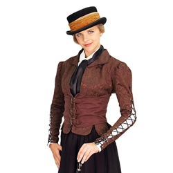 Ladies Winchester Corset Coat - Steampunk Coat