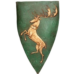Game of Thrones Shield Pin Baratheon (Renly)