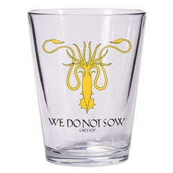 Game of Thrones Greyjoy Shot Glass