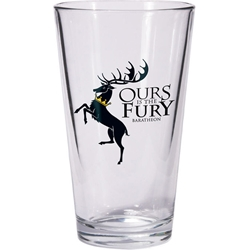 Game of Thrones Baratheon Pint Glass