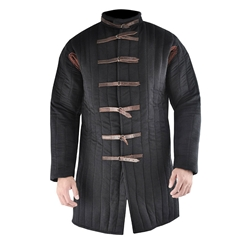 Black Buckle Closure Gambeson, XL