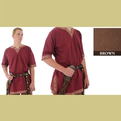 Viking Shirt, Brown, Medium