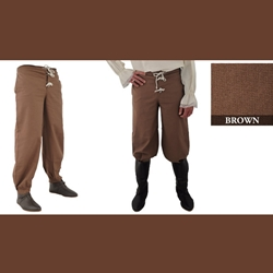 Pirate Pants, Brown, Extra Large