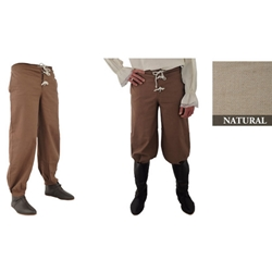 Pirate Pants, Natural, Extra Large