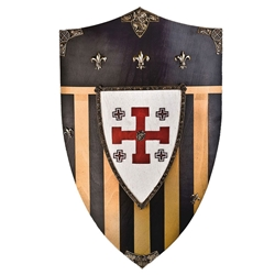 Wooden Shield of Jerusalem
