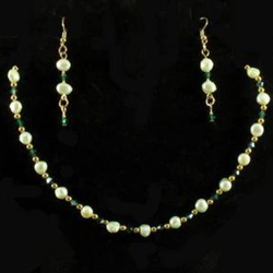 By The Sword Inc Pale Green Freshwater Pearl Necklace Amp