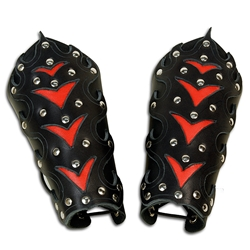 Ornate Goth Arm Bracers 39-3200
