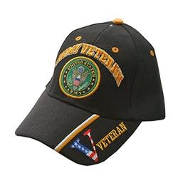 c5a1e1b4113 U.S. Army Veteran Black Baseball Cap
