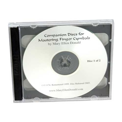 Mastering Finger Cymbals CD  47-LDFC1
