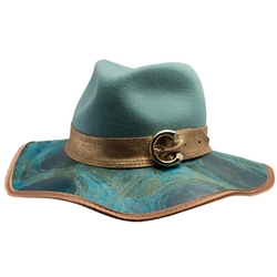 Celine Floppy Hat in Sage