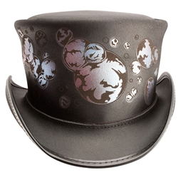 Happiness Leather Top Hat