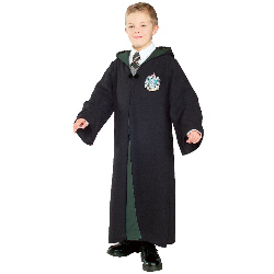 Harry Potter - Deluxe Slytherin Robe Child Costume 100-149906