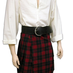 Great Scot Leather Kilt Belt
