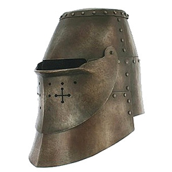 By The Sword, Inc  - LARP Great Helm