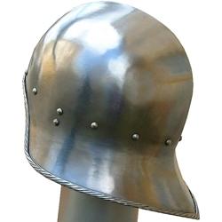 By The Sword, Inc  - Open Face German Sallet Helmet